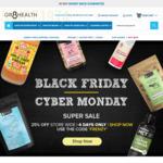 25% off Store Wide Black Friday Sale @ Gr8 Health