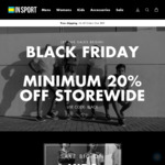 Black Friday 20% OFF STOREWIDE + $60 Converse Chuck Taylors, 50% off New Balance 247, 50% off Puma Sneakers @ InSport