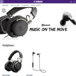 Yamaha Wireless Headphones EPH-W53 $99, HPH-W300 $149 Delivered @ Yamaha