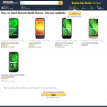 Motorola Moto G6 Series: G6 PLUS 64GB $329.99 (Sold Out) | G6 32GB $289.99 | G6 PLAY 32GB $249.99 Delivered @ Amazon AU