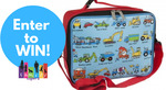 Win a Drink Bottle and Lunchbag From Lucas Loves Cars