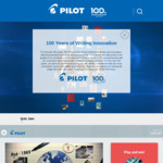 Win a Share of 803 Prizes Worth $6,848.20 from Pilot Pens