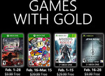 Xbox Games with Gold February 2019 - Bloodstained, Super Bomberman, Assassin's Creed Rogue & Star Wars Jedi Knight
