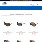 Odyssey 20/20 Sunglasses Only $9.95 + $15 Shipping (Free C&C in WA) @ Jim Kidd Sports