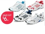 Ladies, Mens, Boys Or Girls Shoes  $6.00 Pair @BigW (Save Up To $8.96)