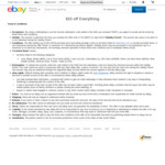 $10 off Coupon @ eBay