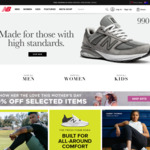 25% off Full Priced Items (Excludes Sale Items, E-Gifts, Cricket Equipment) + $10 Shipping, free over $100 @ New Balance