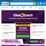 Free Delivery No Minimum Spend with Club Catch I Free 30 Day Trial of Club Catch @ Catch