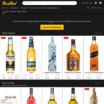 $10 off on $100 + Free Shipping for Existing Users @ Boozebud