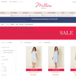 All Summer Sleepwear Sets $6.75 (With Code) + Free Postage @ Millers