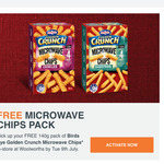 Free Pack of Birds Eye Microwave Chips @ Woolworths Rewards