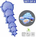 Silicone Stretch Lids (6 Pack) - $7.99 + Delivery (Free with Prime/ $49 Spend) @ Direct from Factory Amazon AU