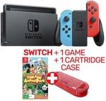 New Nintendo Switch Neon Console + Fun! Fun! Animal Park and Cartridge Case $469 @ EB Games