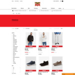 EXTENDED Take a further 20% off all Clearance Styles @ Rivers Australia