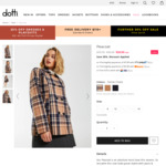 Womens Peacoat - $28 (Was $99.95) + Delivery @ Dotti