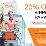 [VIC] 20% off Parking @ Ace Airport Parking (Melbourne Airport Parking)