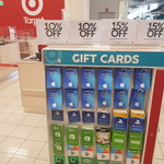 10% off Uber Gift Cards and Catch Gift Cards @ Target