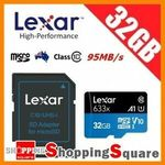 Lexar 633x 32GB microSD, SanDisk Ultra SD 32GB, Kingston 32GB USB 3.0 Drive - Any 3 for $14.25 + Del ($0 w/eBay Plus) @ SS eBay