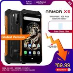 "Ulefone X5 Rugged IP68 Phone (Android 9.0, 5.5"", 3GB/32GB, NFC, B28) $95.89 US (~$141.85 AU) @ Ulefone AliExpress"