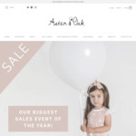Aster & Oak Organic up to 80% off Storewide + Free Shipping on ALL Orders