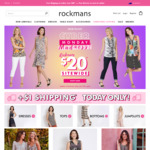 $1 Shipping on Orders Over $15 @ Rockmans