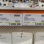 [NSW] iPhone XS MAX (Space Grey Only) 256GB for $1390, 64GB for $1240 @ Costco Marsden Park (Membership Required)
