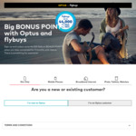 6000-36000 Bonus flybuys Points When You Sign up to Optus Sim Only Plan ($39-$79) and Stay Connected for 3 Months