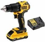 DeWALT DCD709D1-XE 1 × 2Ah 18V Battery, Charger & Hammer Drill Kit $149 @ Bunnings