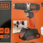 Black & Decker 18V Li-Ion Drill Driver $29 @ Kmart