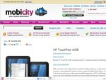 HP TouchPad 16GB - $249 from MobiCity