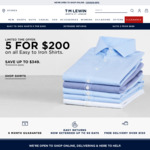 30% off Full Price & All Clearance Items @ T.M. Lewin