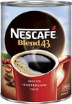 NESCAFÉ Blend 43 Instant Coffee 500g $14.29 / $12.86 Subscribe and Save + Delivery (Free with $39 Spend/Prime) @ Amazon AU