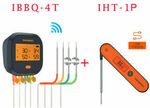 Inkbird Wi-Fi BBQ Thermometer IBBQ-4T + New Instant Read IHT-1P - Both $135.20 Delivered @ Inkbird eBay