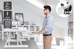 [Kogan First] Ergolux Pro Height Adjustable Sit Stand Desk Riser $109.99 Shipped @ Kogan