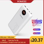 Romoss USB PD & QC 3.0 18W 26800mAh Power Bank $21.10 US (~$31.03 AU), 30000mAh $24.70 US (~$36.32 AU) @ Romoss AliExpress