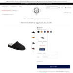 Womens & Mens Made by Ugg Australia Scuffs - $34 Delivered @ Ugg Australia