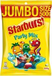 [Prime] Starburst Jumbo Size 500g: Snakes, Party Mix $2.70 Delivered @ Amazon AU