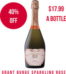 Grant Burge NV Sparkling Rose (12 Bottles) Save 40% $215.18 ($17.99/Bottle) @ Winenutt