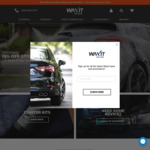 Black Friday: 15% off Waxit Car Care, Free Shipping over $150 Spend @ Waxit