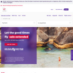 One Way Airfare between Melbourne & Sydney (March Flights Only) - Economy from $49, Business from $199 @ Virgin Australia