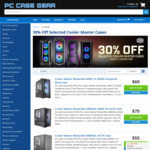 30% off Selected Cooler Master Cases: MasterCase H500P ARGB $167 (Was $239), MasterBox TD500 RGB $89 (Was $129) + Postage @ PCCG