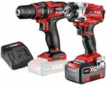 Ozito Power X Change 18V Compact Drill and Impact Driver Kit - in Store $99.98 @ Bunnings