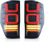 Tail Light LED Set Smoked Fit for Ford Ranger PX MK1/2/3 T6 T7 T8 XL XLT (2012-On) $297 (10% off) @ Machter Autoparts