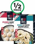 ½ Price Mr Chen's Yum Cha 200-300g $3.75, Mission Deli Style White Corn Strips 500g $2.75 @ Woolworths