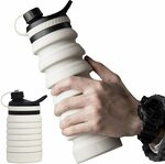 Collapsible Silicone Water Bottle 800ml $9.75 + Delivery ($0 with Prime/ $39 Spend) @ SY Direct via Amazon AU