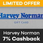 7% Cashback on Harvey Norman Gift Cards (Was 5%) @ ShopBack (App Required)