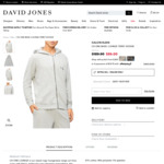 Calvin Klein CK One Basic Lounge Terry Hoodie Size L Only $41.30 at Checkout ($0 C & C/Spend $50 Delivered) @ David Jones