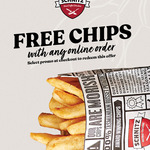 [VIC] Free Regular Chips with $20 Minimum Spend @ Schnitz (Online Only)