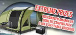 Win an X-treme Camping Combo Package incl a Volkswagen Amarok V6 Worth $91,500 from Caravan Industry Association of Australia