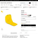 Bugaboo Seat Liner in Bright Yellow $36 (was $79.95) + Delivery ($0 with $50+) @ David Jones